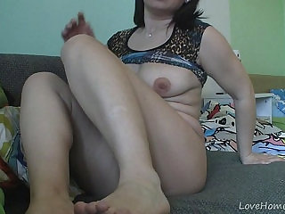 Exotic housewife exposes all of her intimate parts