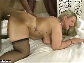Curvy Wife Rides Black Cock While Hubby Films