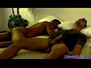 Gay zombie sex with muscular gay couple