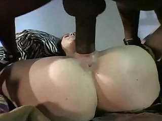 Bella Marie Wolf in sexy outfit getting fucked by a black cock