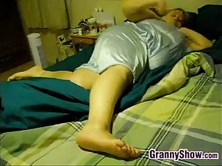 Fat Granny And Her Horny Man Fucking