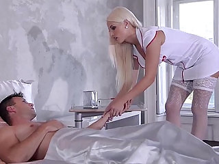 The Perfect Prescription Nurse and Maid Fuck for Health