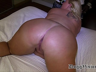 Prolapse Pussy Cuckold Loves Squirting Anal