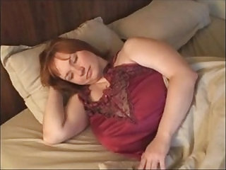 A Redhead BBW Milf with black Huge Boobs
