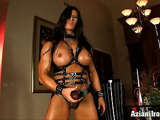 Aziani Iron Angela Salvagno in leather with strap
