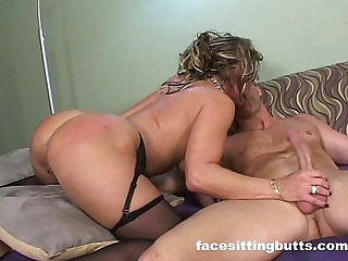 Classy cougar rammed hard by her hot stepson at home