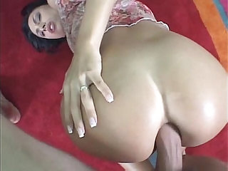 Eva Black haired brunette interviewed and Ass Fucked!