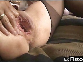 Hilarious Fisting Gal Wild And Nude