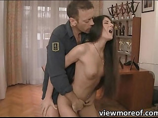 Abby and Ness enjoy the hot threesome sex with Rocco