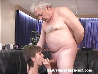Girl cock from old man