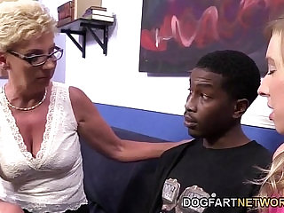 mature ugly and young fuck black penis