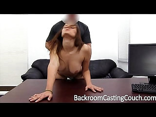 Teen 18 Just Wants Fuck on Casting Couch