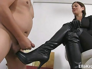 Mistress Ella Kross Present Your Cock Belongs To My Boots