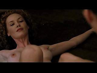 Connie Nielsen Charlize Theron in Devils Advocate 1997