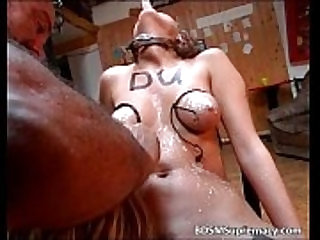 Weird and strange BDSM on cam with sluts