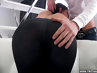 sexvideo.wtf BUTT PORN WITH SEXY TEEN IN TIGHT LEGGINGS