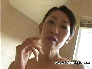 Hairy Asian Milf Fucked by dad s friend