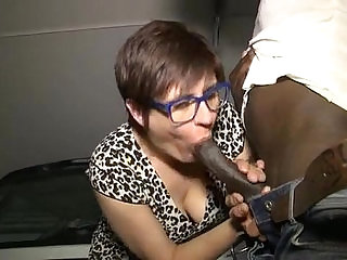 Lise A French Mature Black Cocks anal
