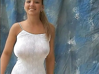 christina model huge titted 18yo bouncing jugs