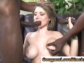 Busty interracial mature hoe takes cocks
