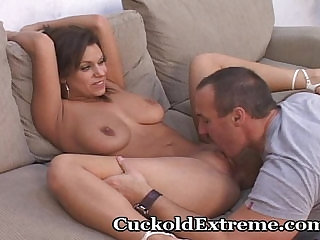 Cuckold Hubby Is Jealous Of His Wife