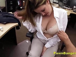 Busty Lady Trades With Tits Pussy For Cash