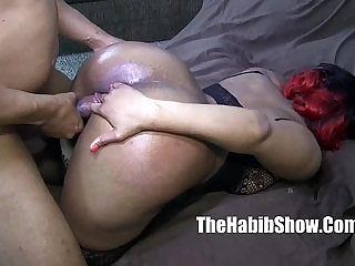 thickred carmel skinned freak gets banged by BBC jovan jordan