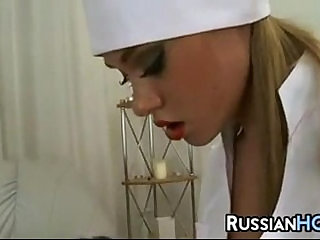 Dominating Russian Nurse