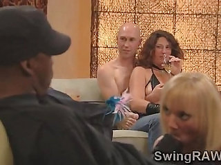 Naughty party in the swingers mansion makes couples go wildavid and Christine
