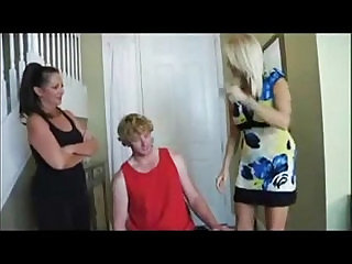 Mom and aunt punished son