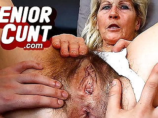 Horny milf Marta a lot of squirting during pussy spreading games