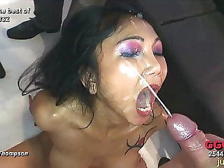 Asian and German babes getting fucked German Goo Girls