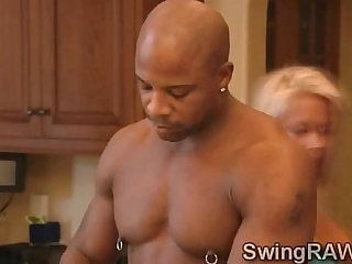 Sexy married couple spends weekend in swinger mansionavid and Christine
