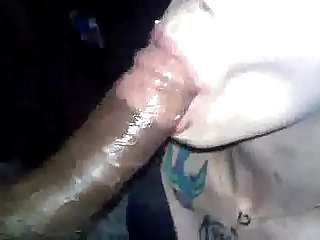 Russian Bitch sucks dick licks balls loved it when I shot cum in her mouth
