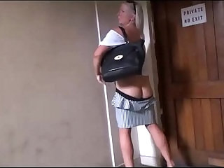 Mature wifes public voyeur adventures and outdoor masturbation of flashing old a
