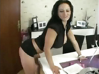 Sexy busty milf slut wife fucking in different positions
