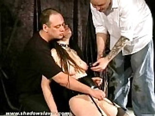 Asian Bitch Sexually Tormented and in bizarre pussy workovers and nipple punishm