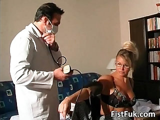 Watch these two kinky doctors as they