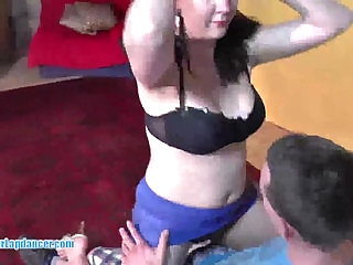 Busty blonde amateur babe gets fingered and licked after hot blowjob