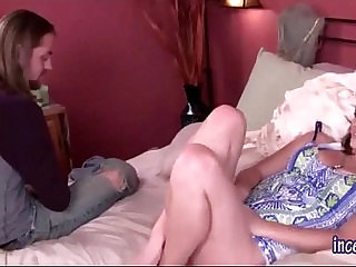 Sister Fucks Her Spying Brother