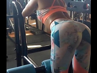 Amazing ASS at gym