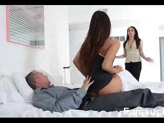 Horny Pretty Stepdaughter Sucks Dick To Skip school
