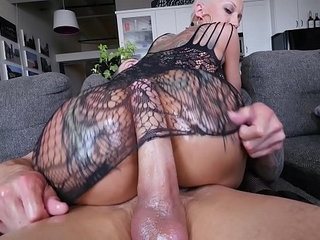 A Short Haired Bella Gets Anal For Her Big Ass