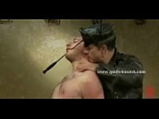 Inmate is flogged by his Master