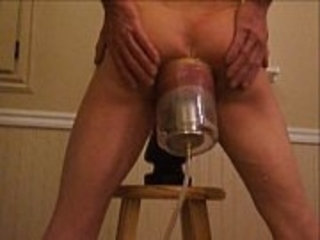 Extreme Ass and Anal with an Anus Pump and Giant Butt Plug
